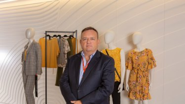 New Myer CEO John King says the retailer's best days are ahead.