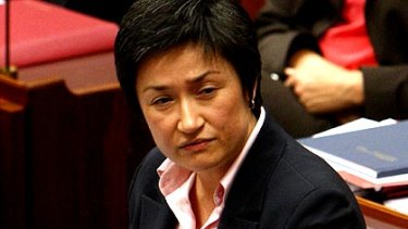 Penny Wong ... backs Labor's anti-gay marriage stance.