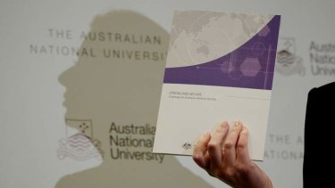 Prime Minister Julia Gillard presents the Government's National Security Strategy.