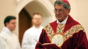 Former Bishop of Wagga Wagga Gerard Hanna.