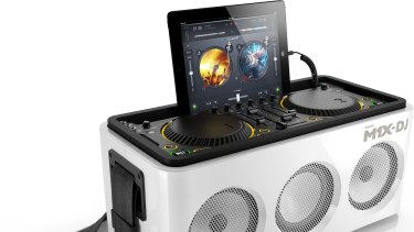Convincing sound: The DJ Philips M1X-DJ isn't a professional machine but it does the business for anyone who wants to learn the art.