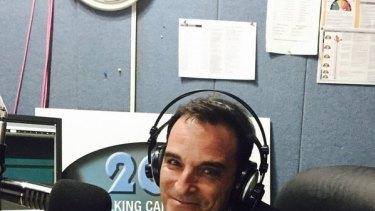 Marcus Paul, former 2CC radio host, who resigned on Wednesday.