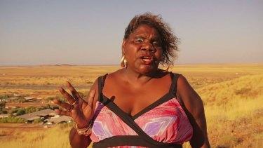 Ms Daniels has lost 15 kilograms since shooting this video.