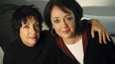'Half the work and twice the fun'... Angela Catterns and Wendy Harmer reunite on NewsRadio.