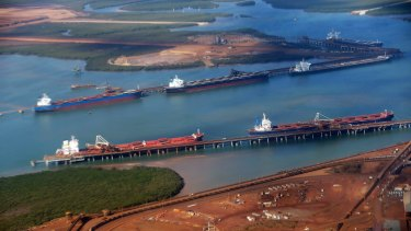 Record shipments from Port Hedland indicate that supply-side pressure is building.