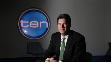 Network Ten chief executive Hamish McLennan.