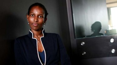 Ayaan Hirsi Ali, Dutch feminist and political writer.