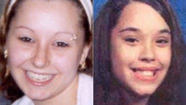 Found: Amanda Berry, left, and Gina DeJesus.