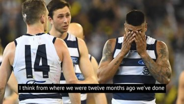 Despite their heartbreaking loss to Richmond, Geelong coach Chris Scott said he was still proud of his players.