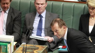 Fashion advice .... Tony Abbott says he regrets agreeing with Germaine Greer.