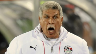 Controversial comments ...  Egypt coach Hassan Shehata.