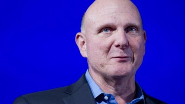 Steve Ballmer: Stepping down as Microsoft CEO within a year.
