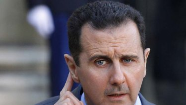 Controversial ... Syria's President Bashar al-Assad.