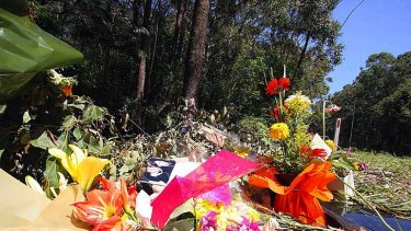 There are growing concerns roadside tributes for crash victims are distracting other drivers.