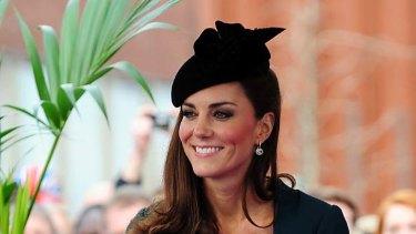 Fashion icon ... Catherine, Duchess of Cambridge.