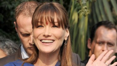 Carla Bruni Expecting Twins Report