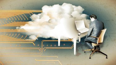 Hidden costs ... figures showing cloud computing is 15 per cent cheaper than a traditional onsite server are flawed, says Macquarie University IT lecturer Milton Baar.