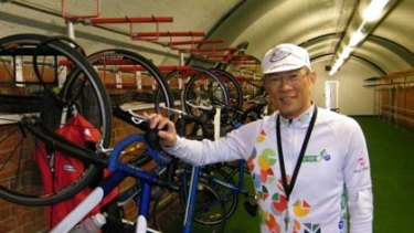BikePark owner James Chong.