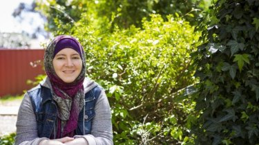 Reaching out: Nicola Harrod, 25, is hosting a Non-Muslim and Muslim Solidarity Picnic in Canberra next weekend.