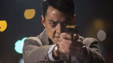 Daniel Wu as Dave Wong in <i>That Demon Within</i>.
