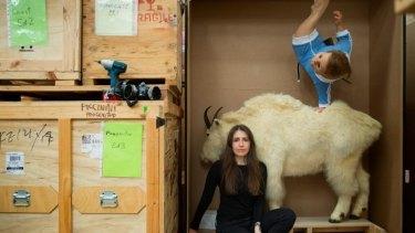 Boundary-pushing: Artist Patricia Piccinini.