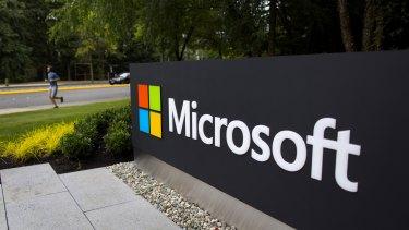 Generous reward: Microsoft.