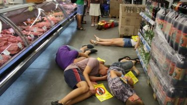 Ukraine activists boycott Russian products.