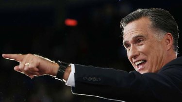 Mitt Romney: multi-millionaire presidential candidate who ran against Barack Obama.