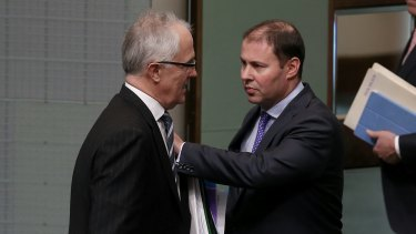 """Hey, Malcolm - good luck with the NBN report and everything. Also, might I interest you in these Transfield shares?"""