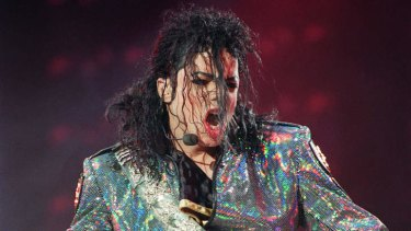 The King of Pop ... Michael Jackson performs during a concert near Paris in 1992. Jackson's 'Xscape' is the second album released since his death on June 25, 2009.