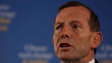 Causing confusion: Tony Abbott's recent comments about candidate Fiona Scott have left many questioning the reasons behind her selection.