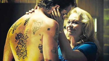 Sullivan Stapleton and Jacki Weaver in Animal Kingdom.