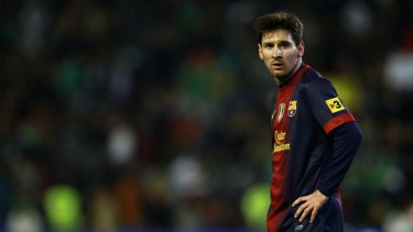 In a league of his own... Leo Messi