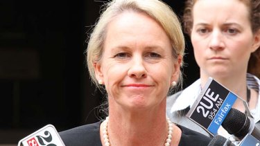 Fiona Nash: Stands by her chief of staff.