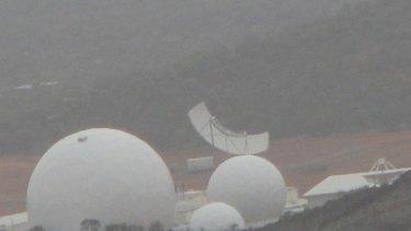 The Torus multi-beam antenna at Pine Gap.