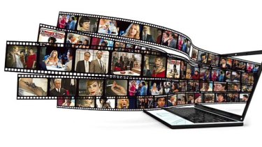 iStock image File #: 17649067 Laptop and films on white background  (done in 3d). March 2012