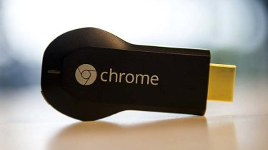 Google's Chromecast digital media player.