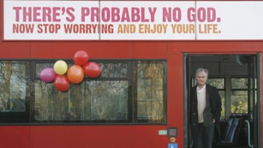 British atheists, including author Richard Dawkins, began advertising on buses last year, and now Melbourne is getting on board.