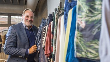 H&M country manager Hans Andersson.