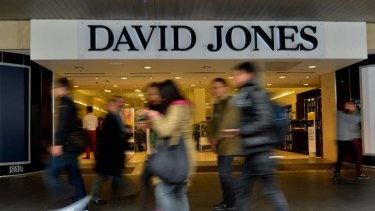 The way forward: David Jones and Myer are two retailers who have seen the benfits of having a prominent online presence.