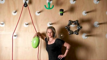 Curator Simone LeAmon with objects that will feature in the NGVs Melbourne Design Now exhibition.