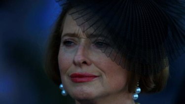 Defended her son: Gai Waterhouse.