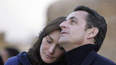 On the rocks? Nicolas Sarkozy and Carla Bruni.