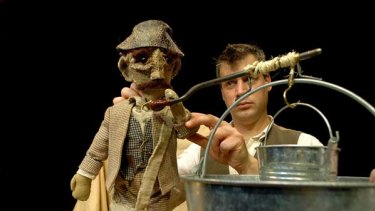 Seeds of renewal ... homespun props and puppets tell a tale of friendship.