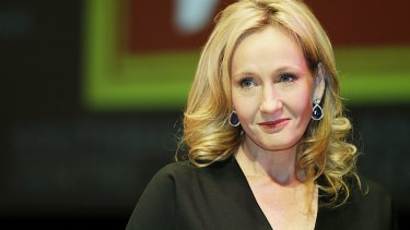 J. K. Rowling's adult voice wobbles at first, but after 100 pages it is steady and full of confidence.