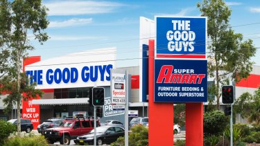 The largest Good Guys outlet, in Caringbah, sold for around $30 million.