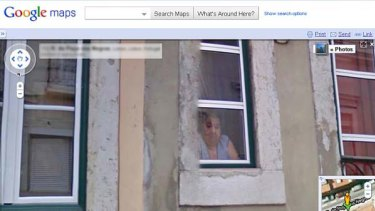 A face in the window ... Google is under investigation for collecting Wi-Fi data from its Street View mapping service.