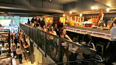 Bright young thing … the newest Jamie's Italian has opened on Pitt Street.