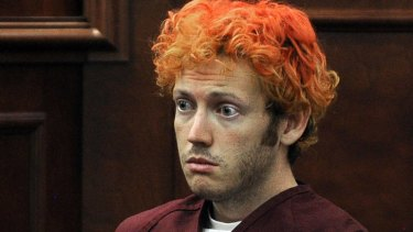 Shooting suspect James Holmes, who appeared in a Colorado court yesterday,  is in solitary confinement.