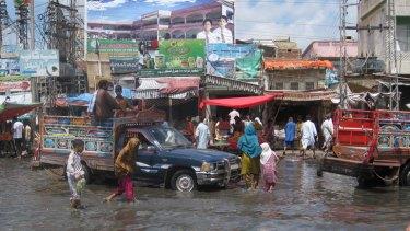 It never rains ... recent floods exacerbated Pakistan's social problems.